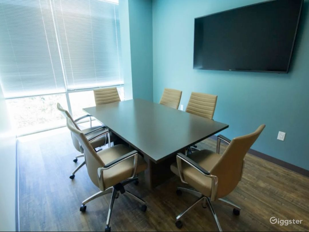 Private Meeting Room with Natural Light Photo 1
