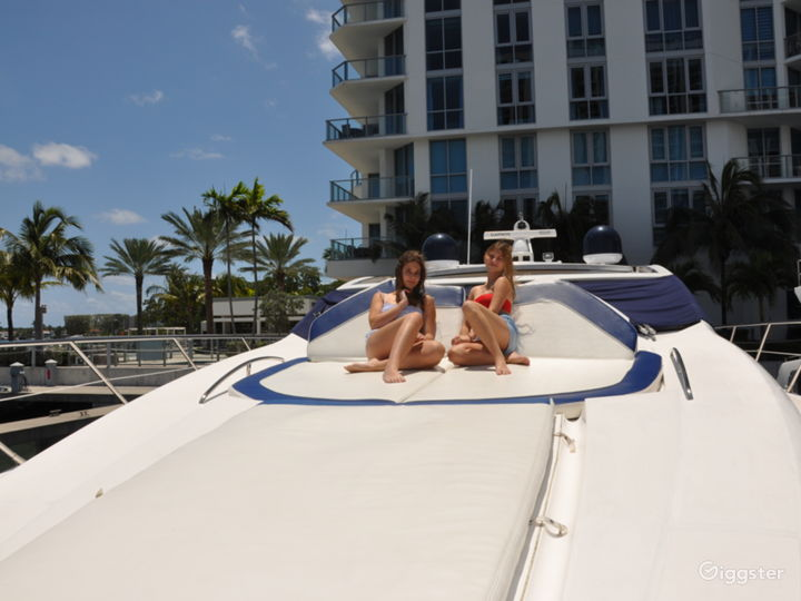Cool and Colossal 82ft Sunseeker Party Yacht Space Events Photo 3