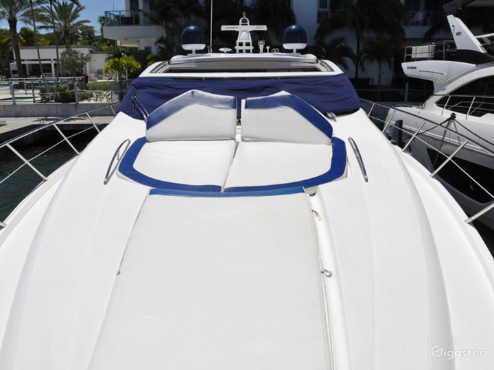 Cool and Colossal 82ft Sunseeker Party Yacht Space Events Photo 5