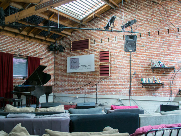 Downtown Berkeley Performance Space with Skylights