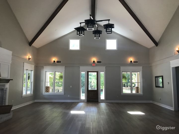 Warm and Cozy Clubhouse for Events in Raleigh