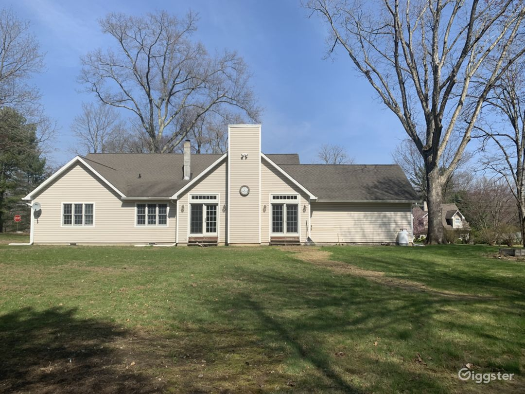 .63 acres to shoot outdoors. Outdoor shooting ONLY! This where the back fo the home is located.
