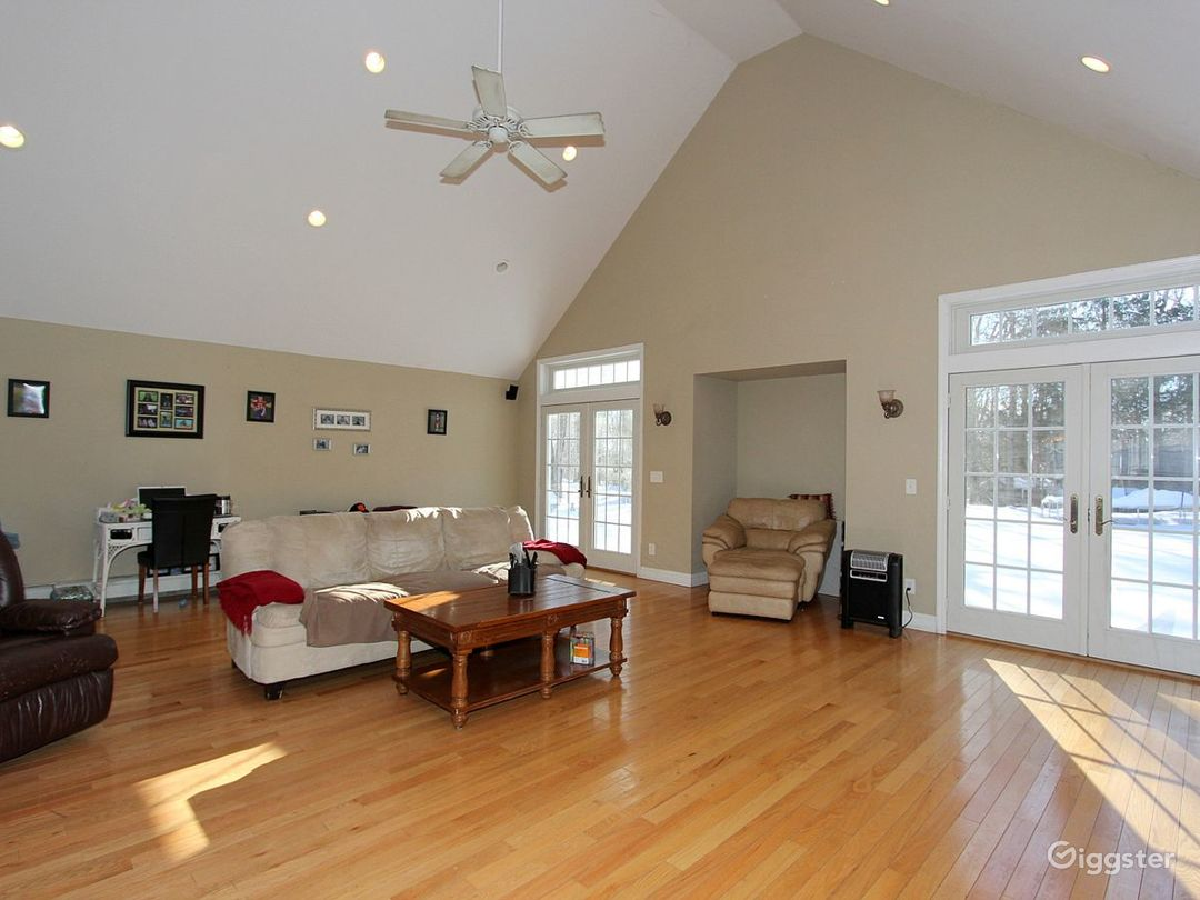 Another angle of the living room