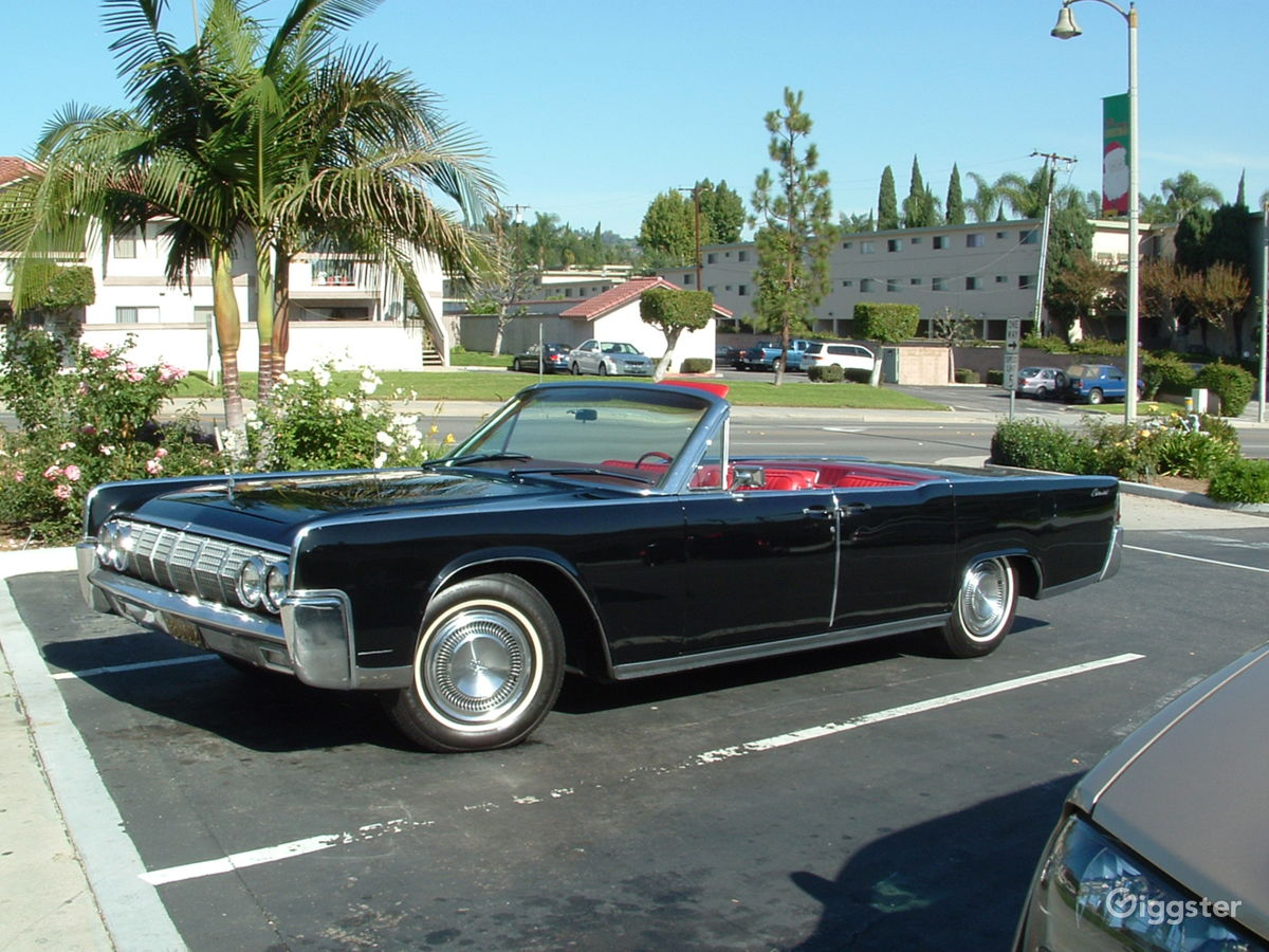 Rent the Car(transportation) 1964 Lincoln Continental 4-Door Convertible for filming/ & Rent 1964 Lincoln Continental 4-Door Convertible Car (transportation ...
