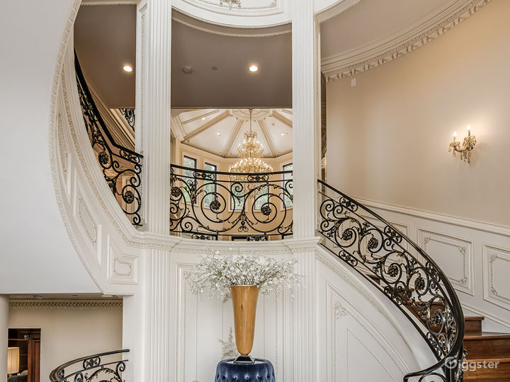 French Chateau Style Mansion Photo 3