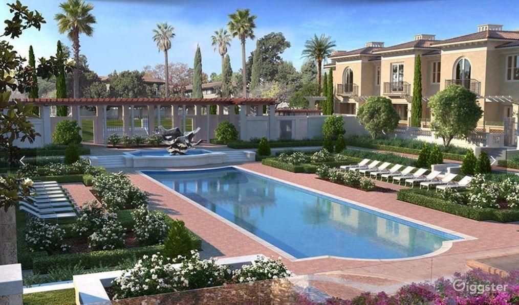 Luxury Italian Mansion Home in Pasadena Los Angeles Rental