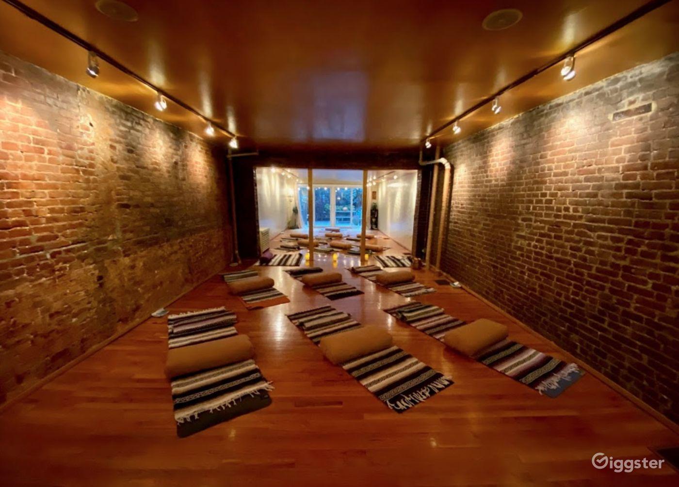Brownstone Yoga Studio in Upper West Side New York Rental