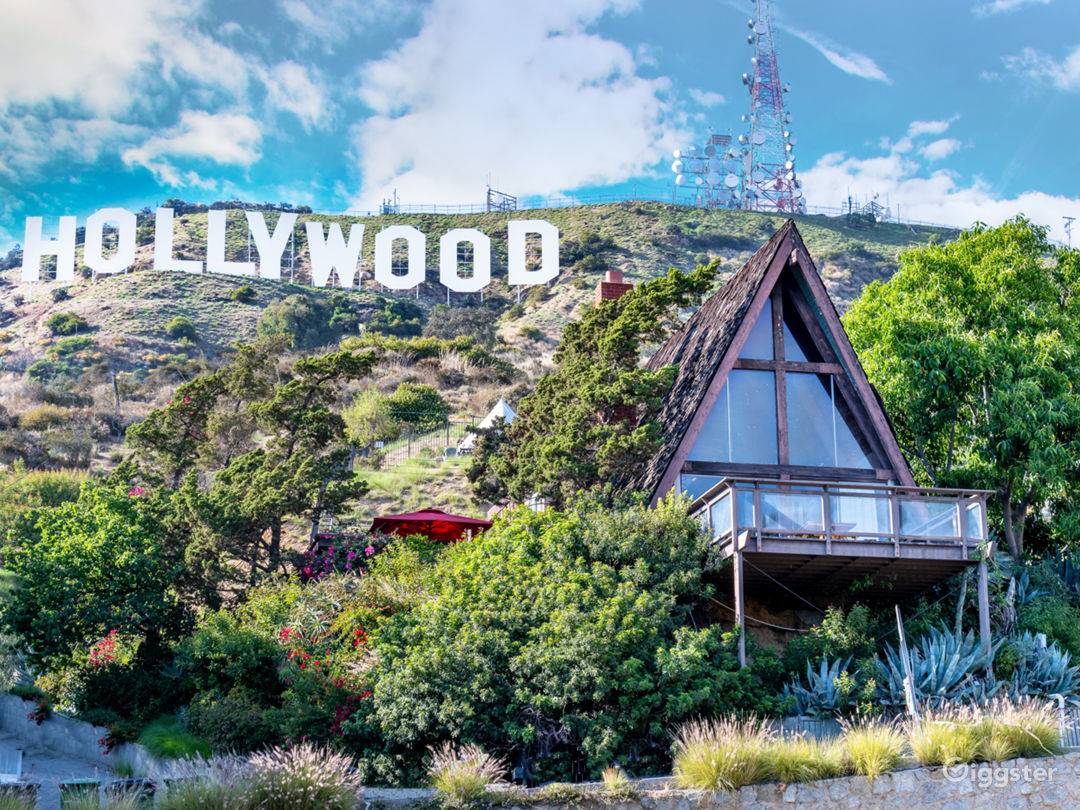 Welcome to the Hollywood Sign Chalet
