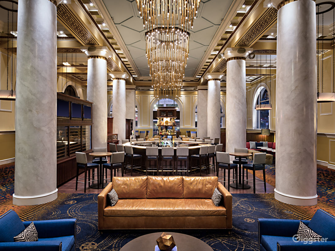 Lobby of the iconic Hotel ICON - founded in 2004.