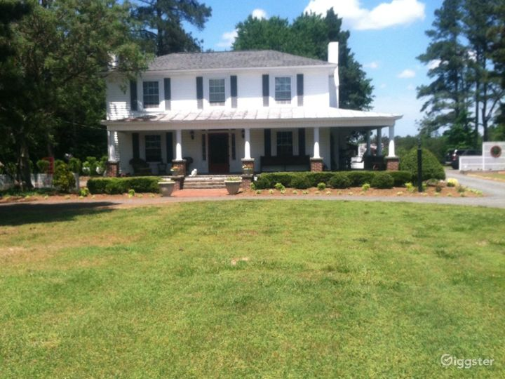 Front of our farmhouse
