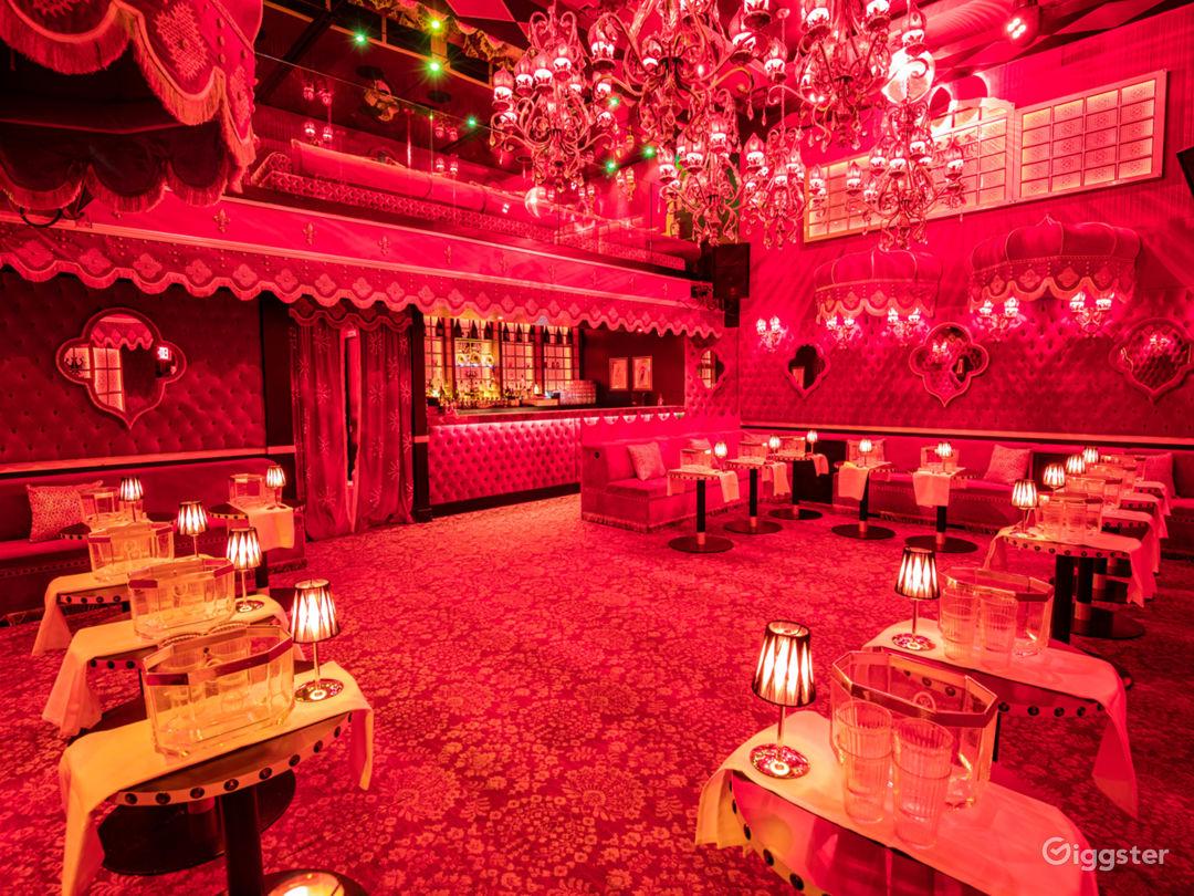 Raspoutine main floor tables and Bar