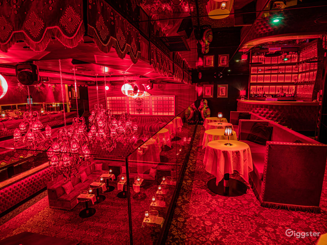Raspoutine upstairs Bar and tables