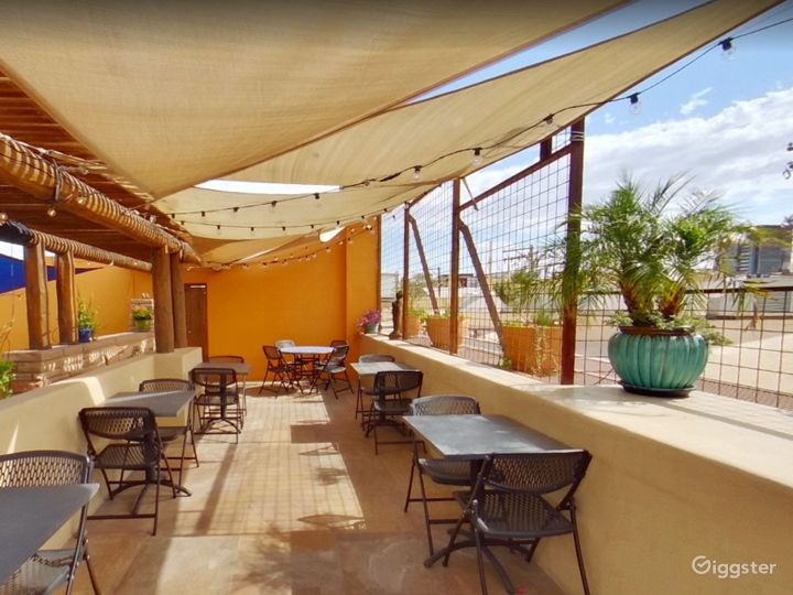 Courtyard and Patio with a Spectacular View of Catalina Mountains Photo 5