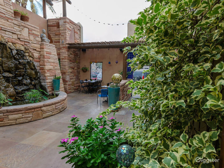 Courtyard and Patio with a Spectacular View of Catalina Mountains Photo 3