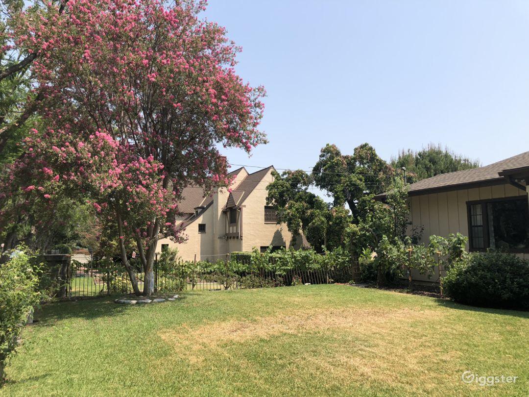 Neighbors house on left