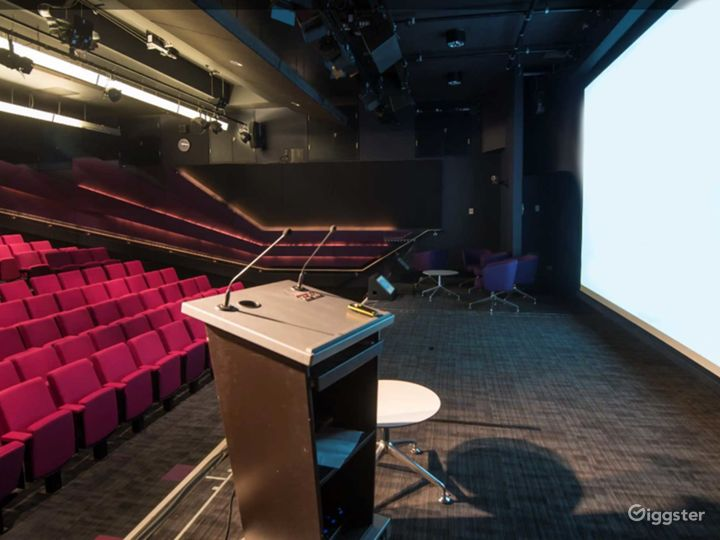 Well-equipped Weston Theater inside the Museum in London Photo 5