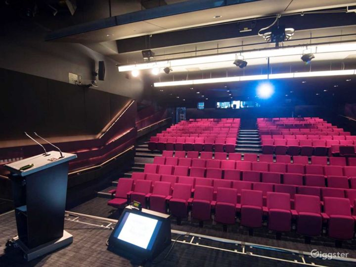 Well-equipped Weston Theater inside the Museum in London Photo 3
