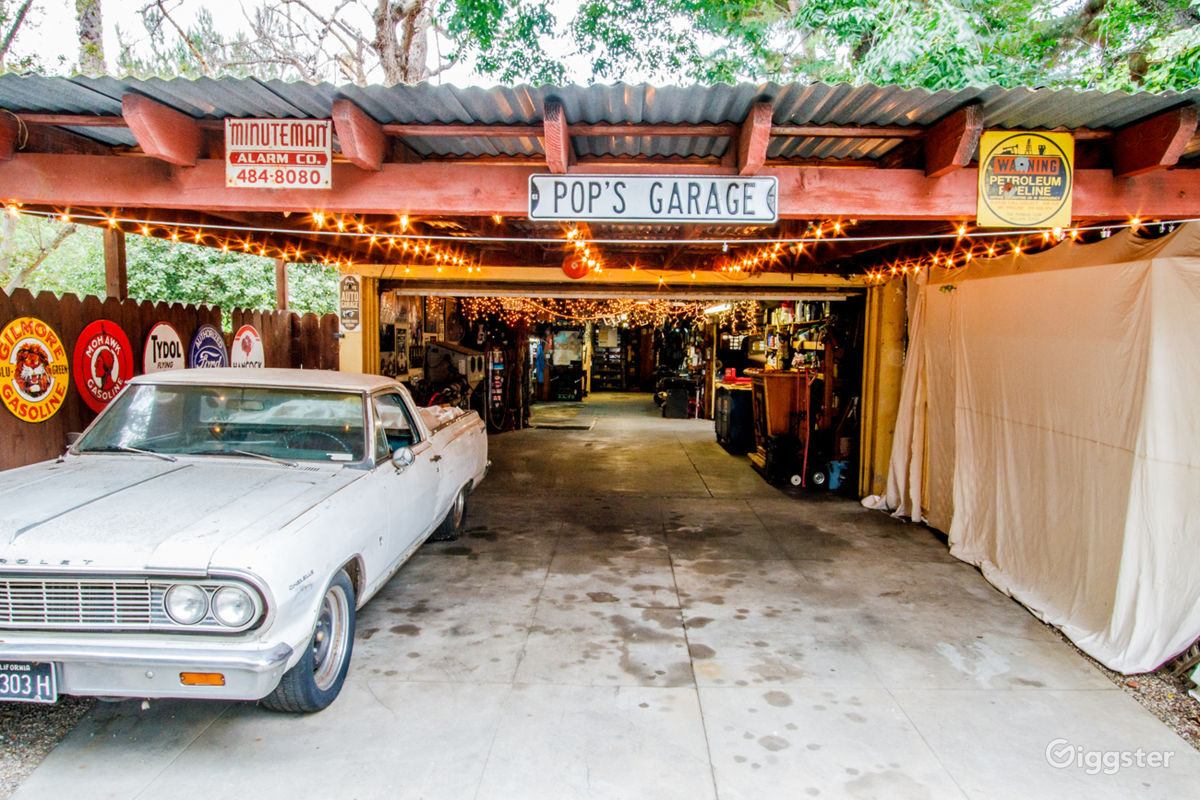 Rent Large Historic Auto Garage Location W Cars Event Space