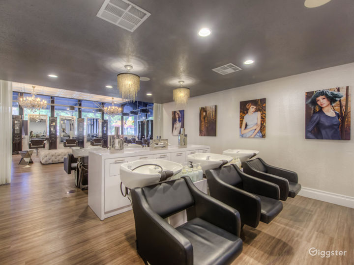 Luxury hair salon Photo 3