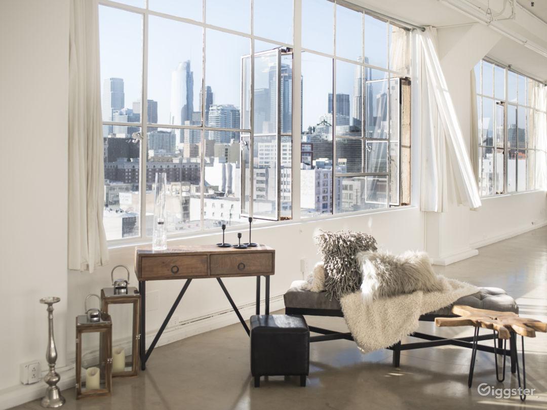 1700 SF / DTLA Skyline View Suite / Photo Film Photo 1