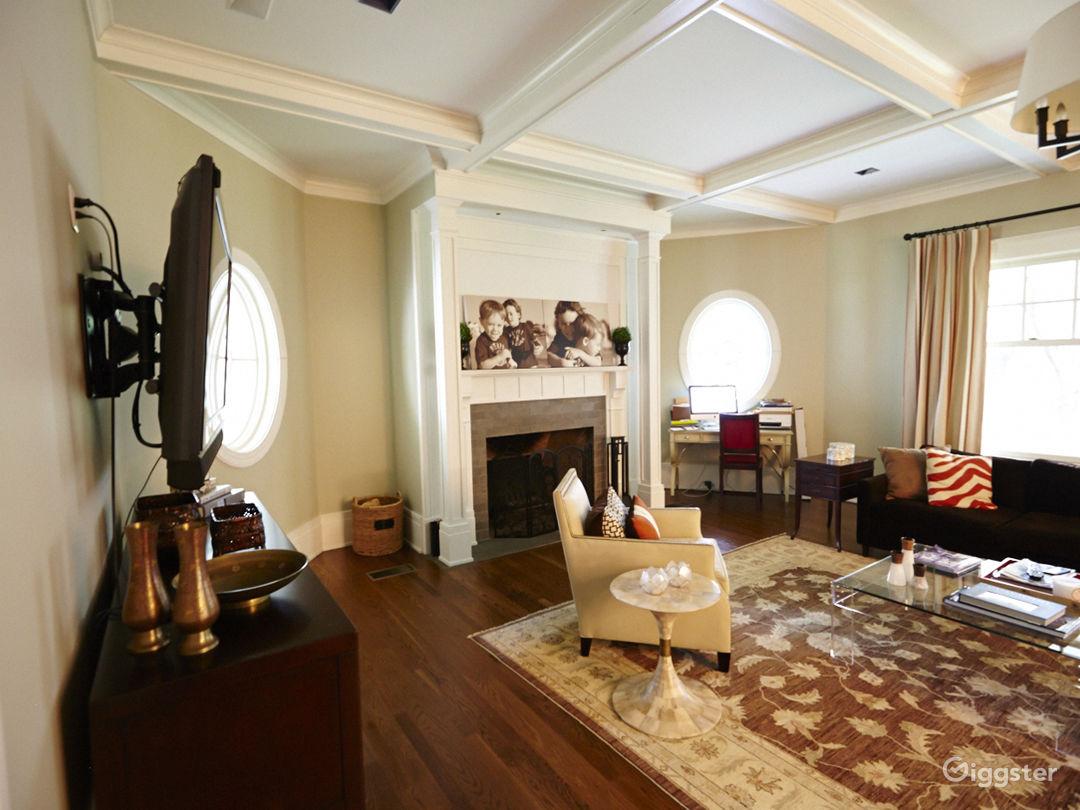 Large contemporary suburban home: Location 5056 Photo 1