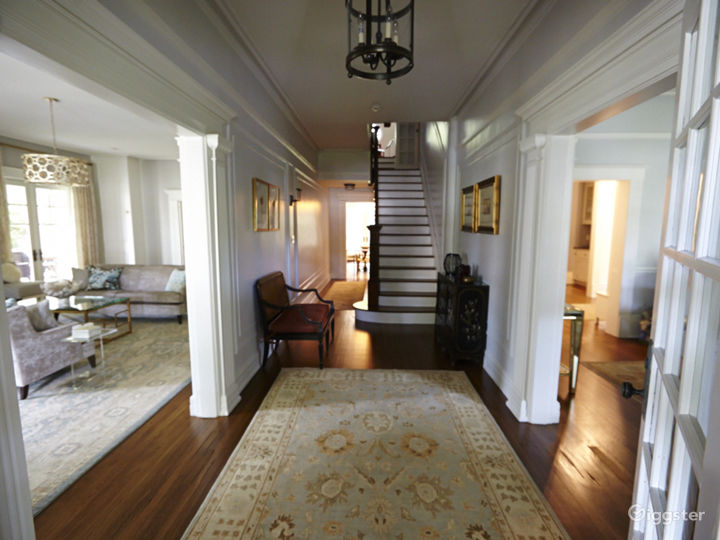 Large contemporary suburban home: Location 5056 Photo 2