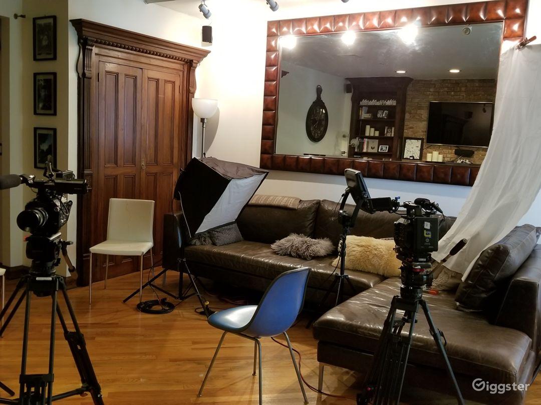 Documentary shoot