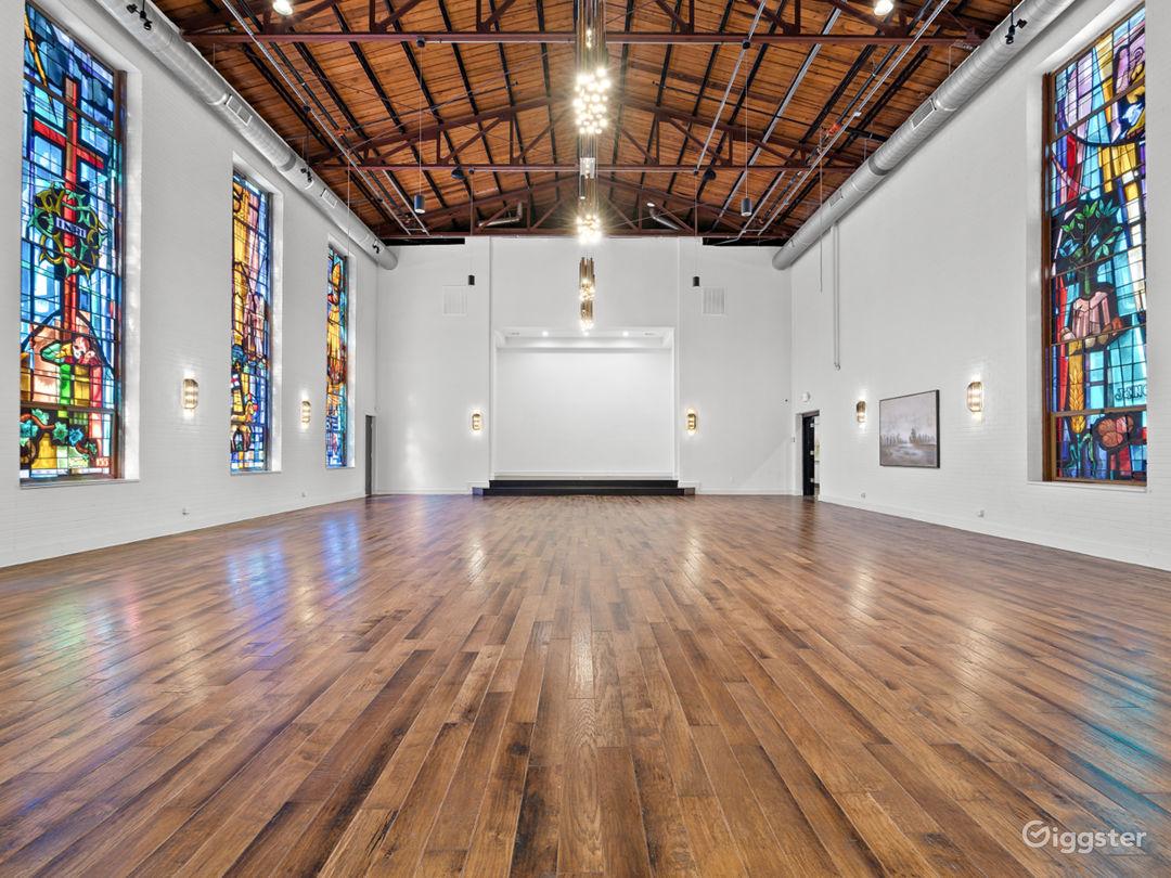 Spacious Reimagined Historic Venue Buyout Photo 1