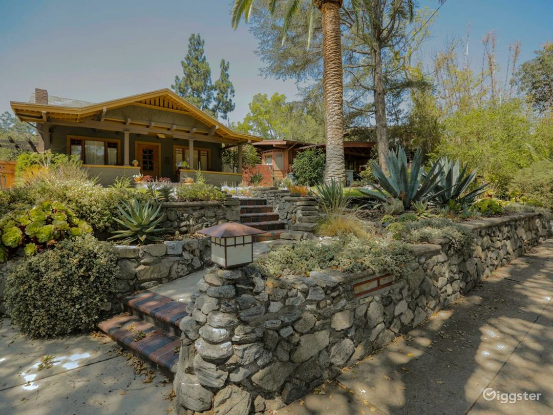 Historic Pasadena Craftsman Bungalow Photo 1