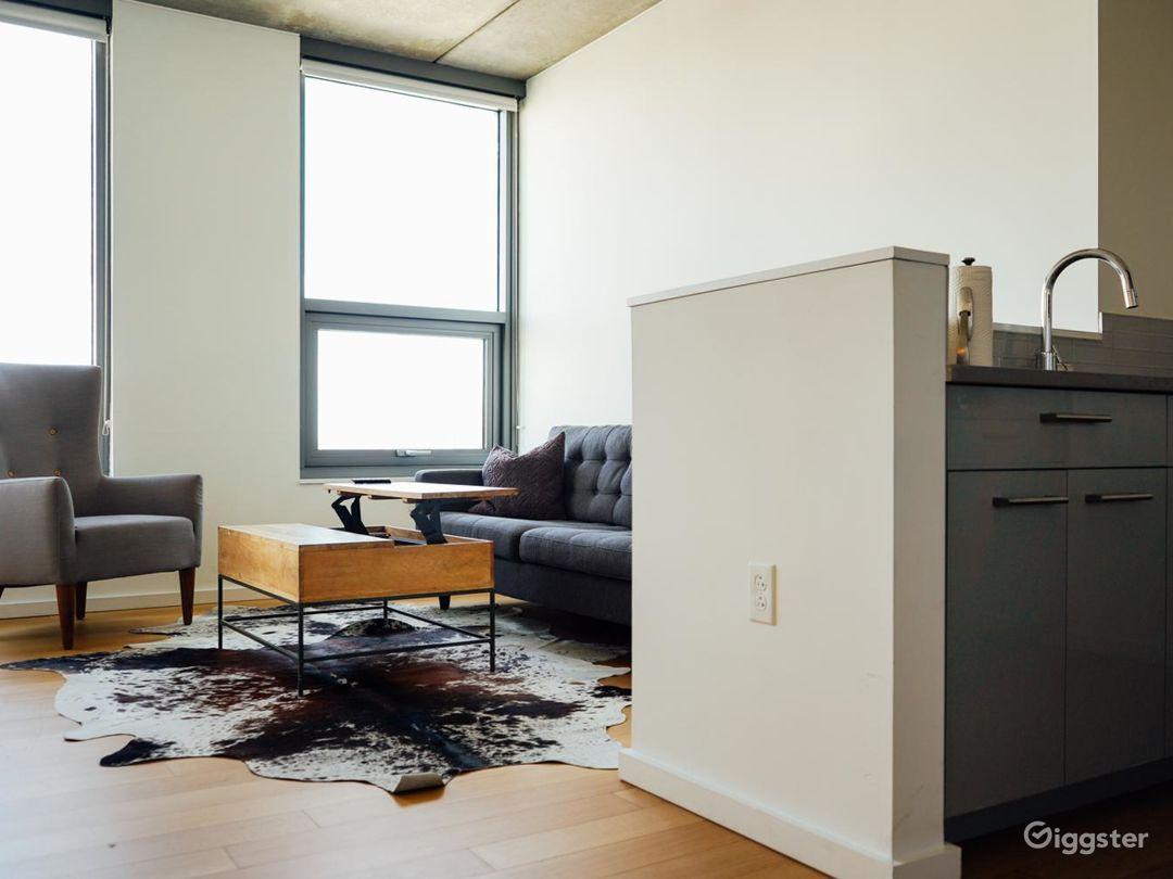 Minimalist Penthouse Apartment Photo 5
