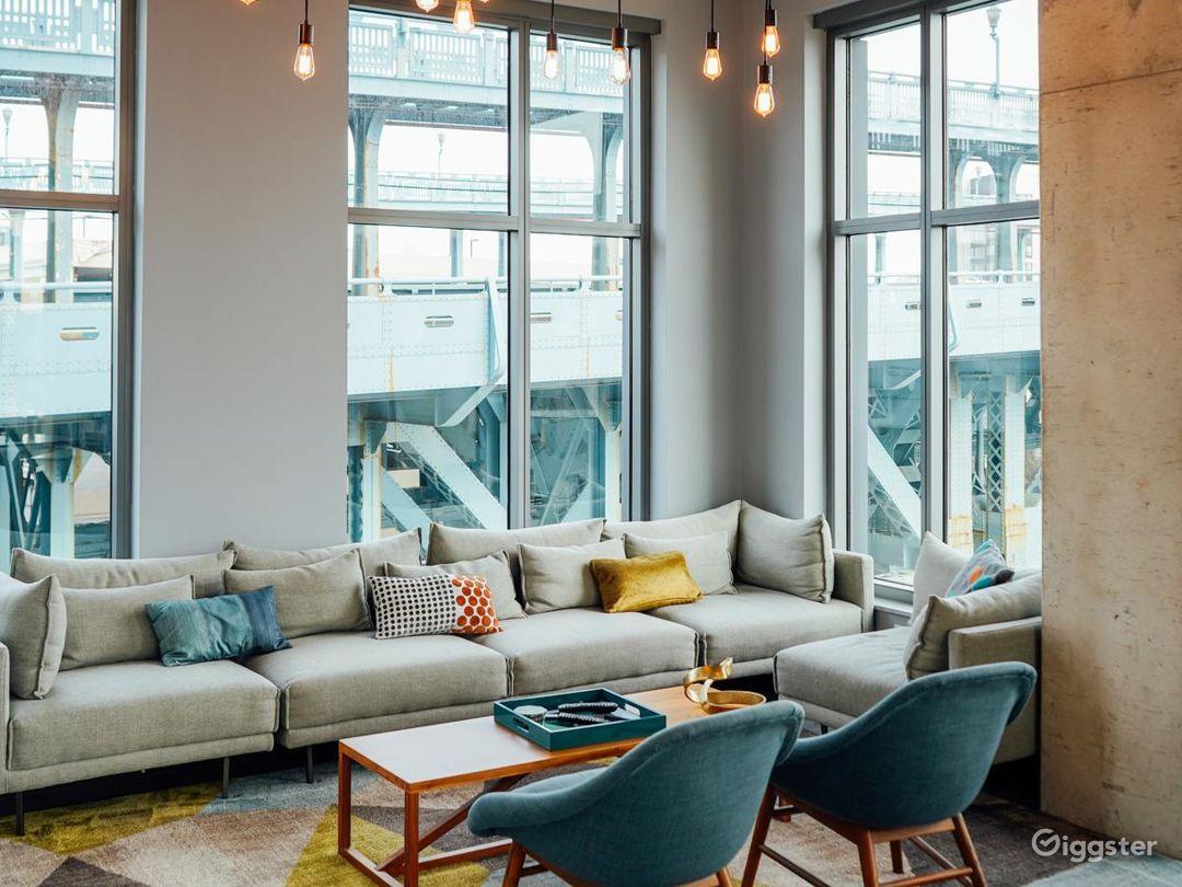 Minimalist Penthouse Apartment Photo 1