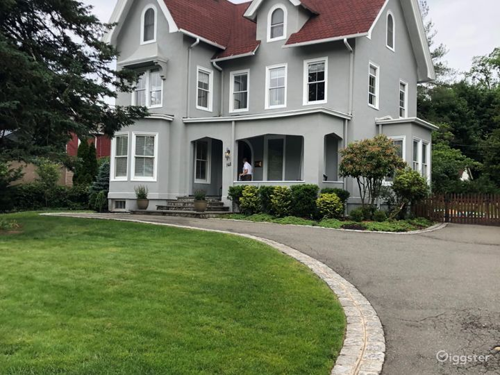 Beautiful Victorian with high ceilings, a ton of light and original detail with large yard and garden.