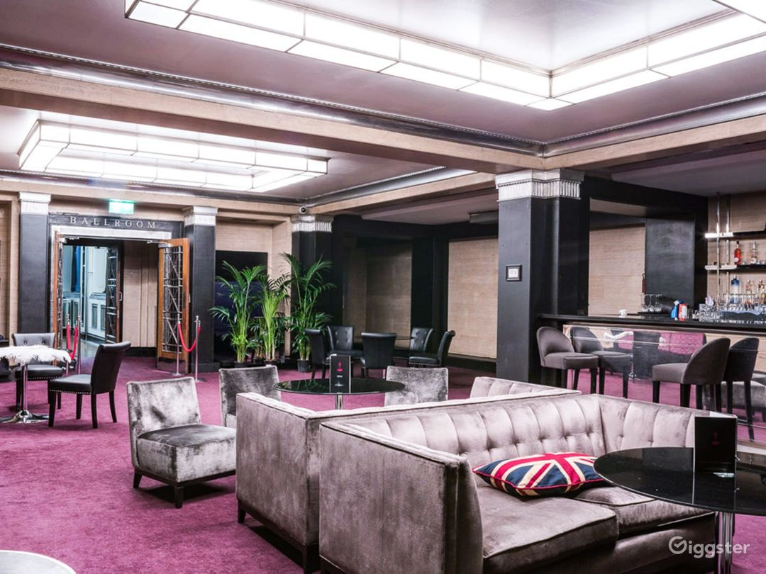 Art Deco Event Space and Bar in Bloomsbury Photo 1