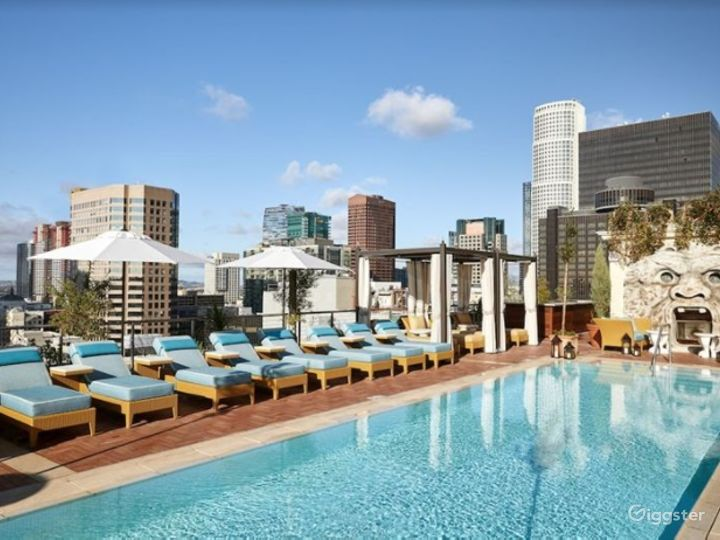 Rooftop with Sweeping Views in LA Photo 4