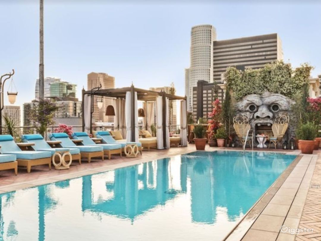 Rooftop with Sweeping Views in LA Photo 1