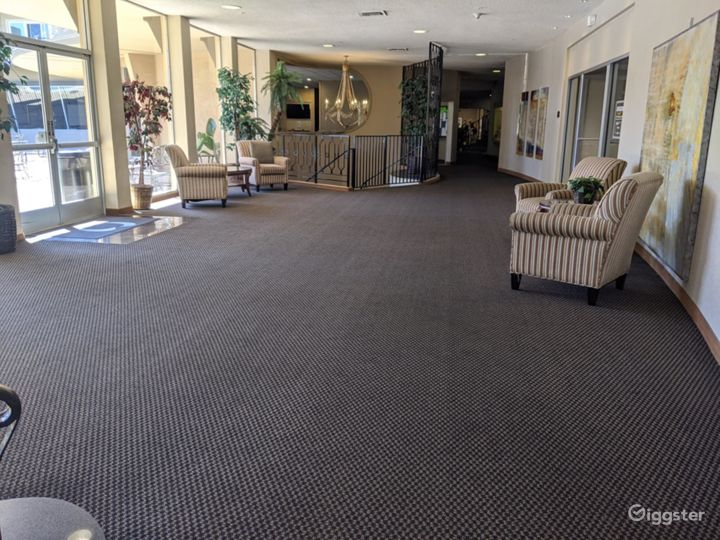 Dazzling Lobby Area in San Mateo, Great For Pop-Up's & Networking Events