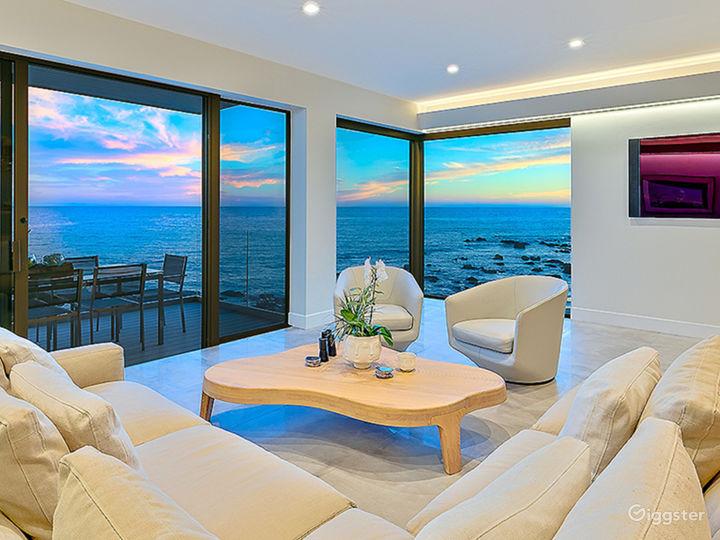 Modern Oceanfront Beach Villa