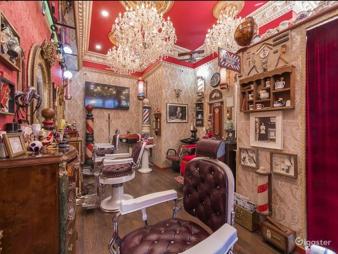 Elegant Barbershop Museum in New York City Photo 1