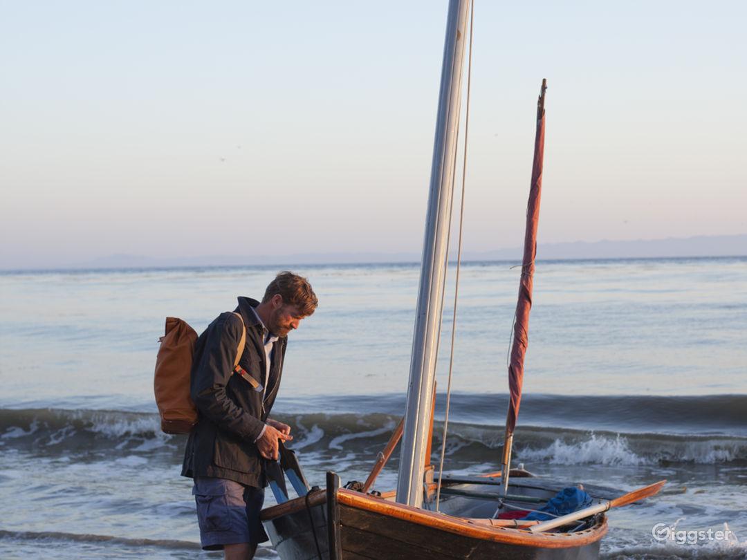 1800 Style Handmade Sail Boat Photo 5