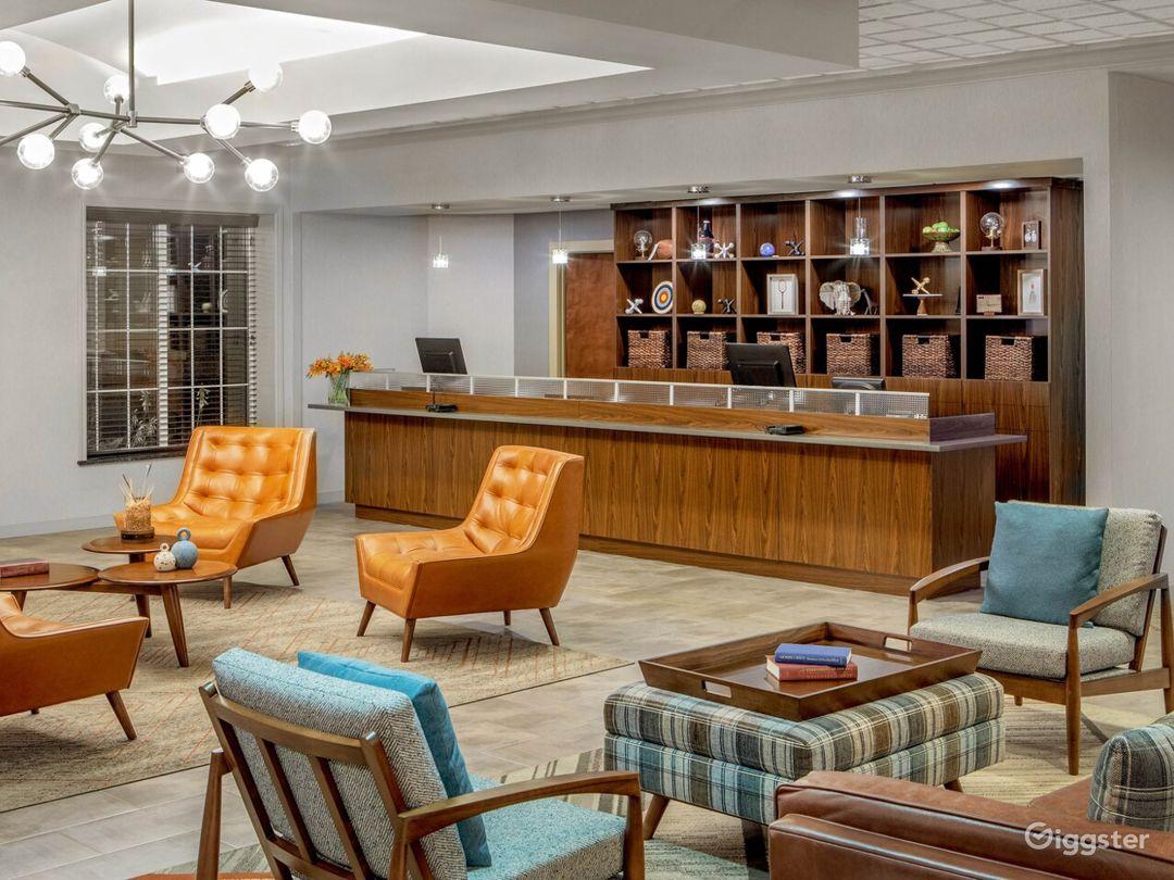 Stunning Hotel Lobby in Kalamazoo Photo 1