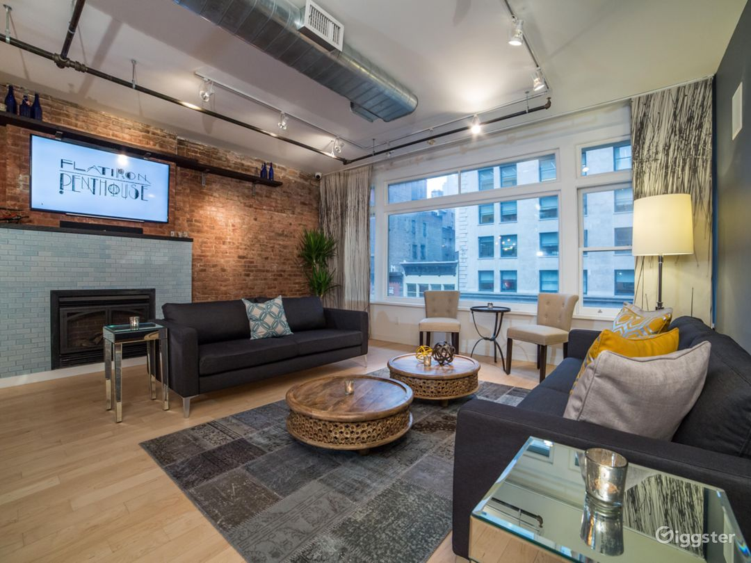 Flatiron Penthouse in New York Photo 1