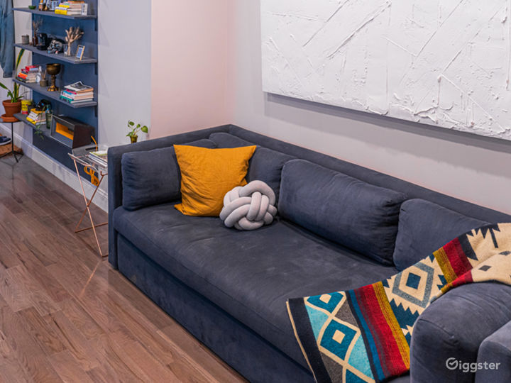 Apartment with office/studio & LED lighting Photo 2