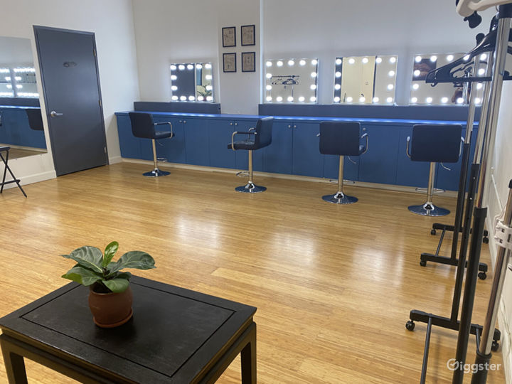 hair & make-up room