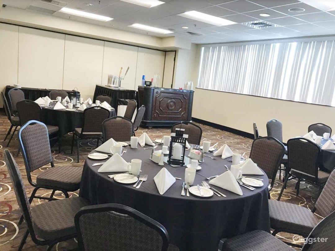 Contemporary Hotel Ballroom in Lincoln  Photo 1