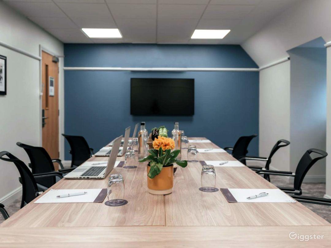 Modern Meeting Room in Dorking Photo 1