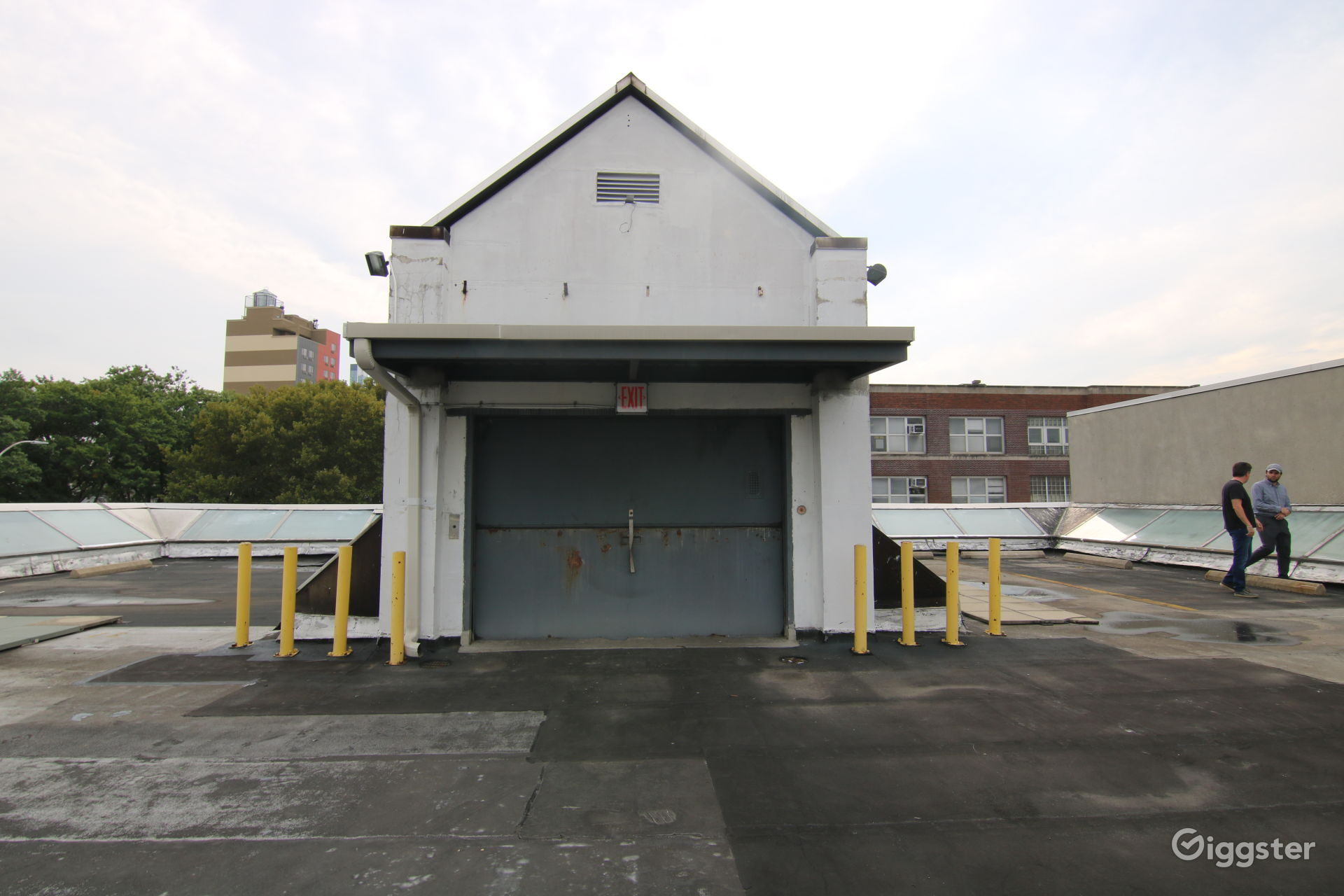 Long Island City Rooftop Parking Lot Photo 1