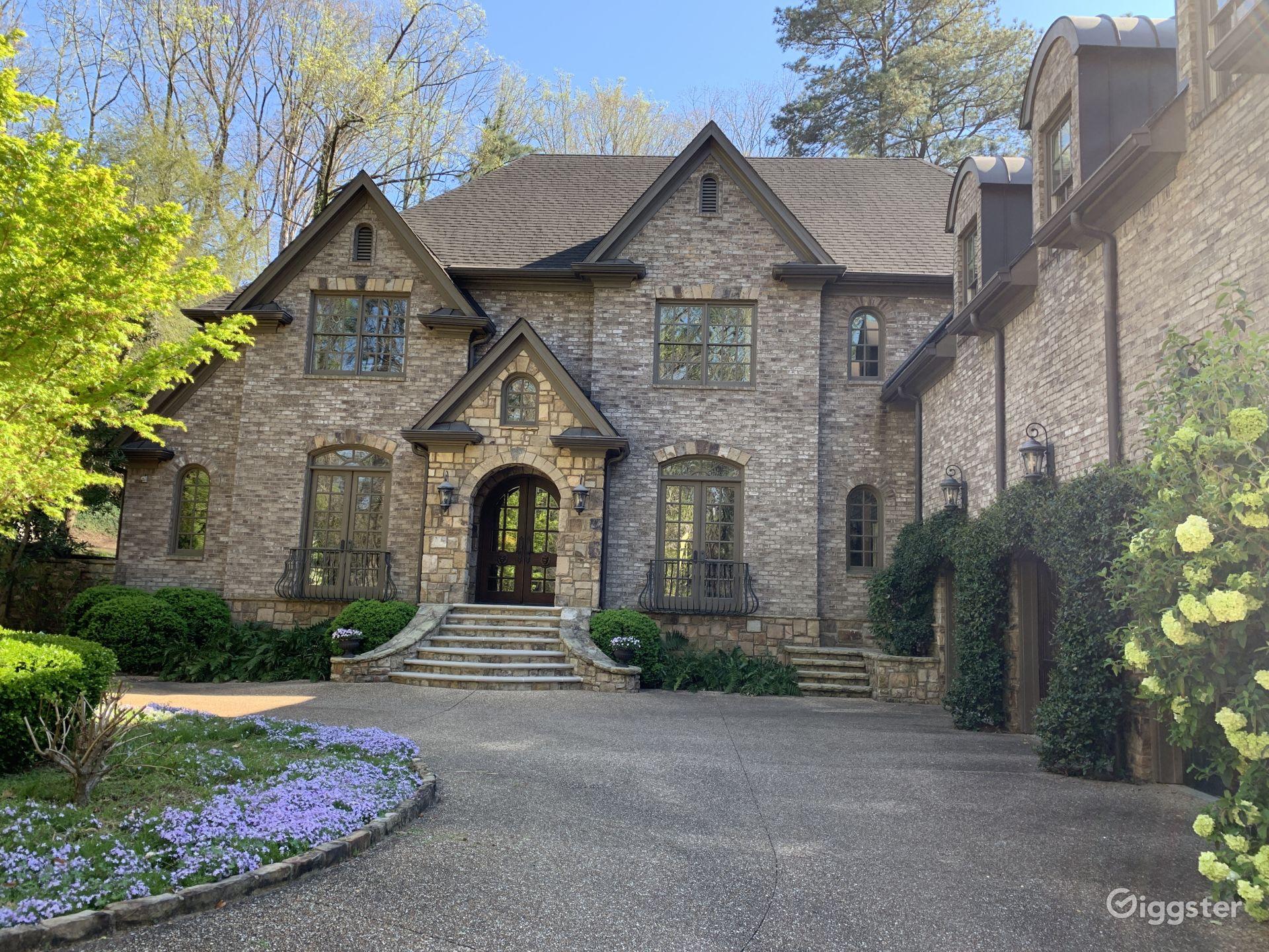 Buckhead Old World Mansion Atlanta Rental