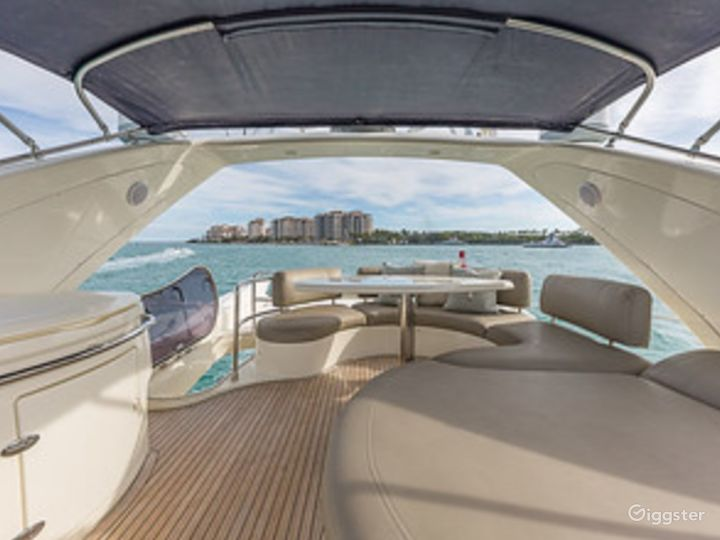 Massive and Attractive 68FT AZIMUT Party Yacht Space Events Photo 5