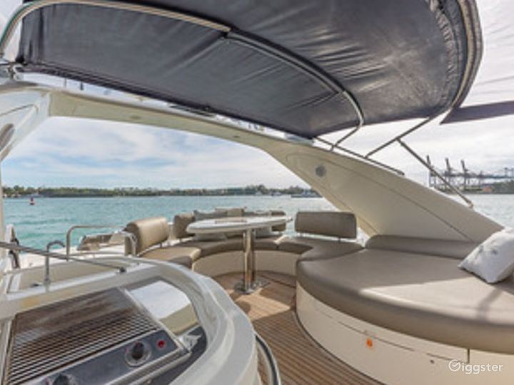 Massive and Attractive 68FT AZIMUT Party Yacht Space Events Photo 4