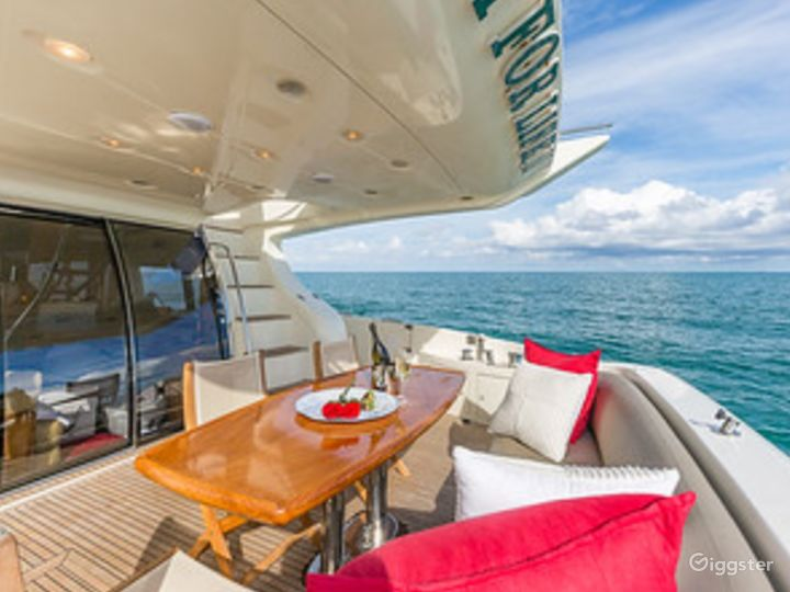 Massive and Attractive 68FT AZIMUT Party Yacht Space Events Photo 3
